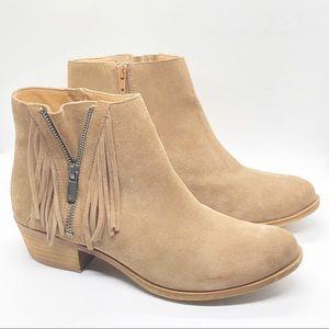 Lucky Brand Beeliner Ankle Booties Boots Sz 8.5